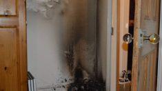 ¿Pueden los picaportes de vidrio causar incendios?
