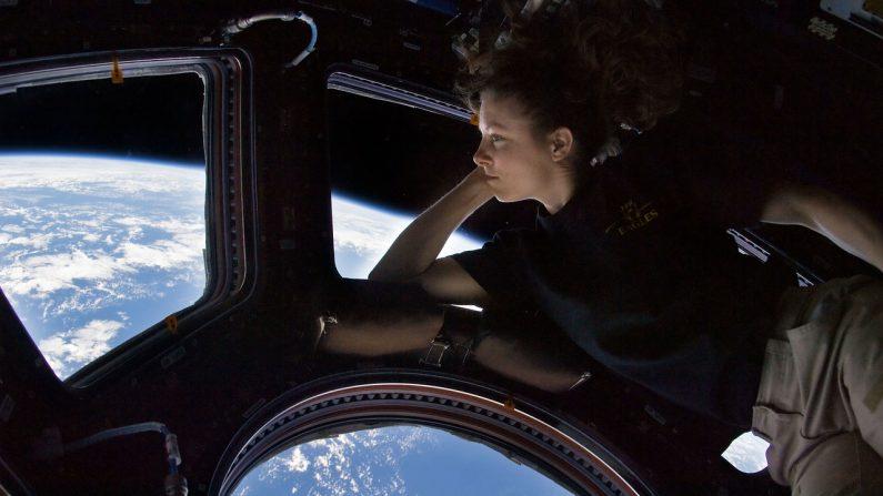 """Astronauta dice que la Tierra vista desde el espacio es la """"creación de un dios infinito"""". Imagen ilustrativa. (Crédito: Pixabay/WikiImages)"""