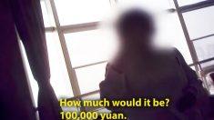 Video muestra a enfermera pidiendo USD 10.000 para acelerar un trasplante de órgano