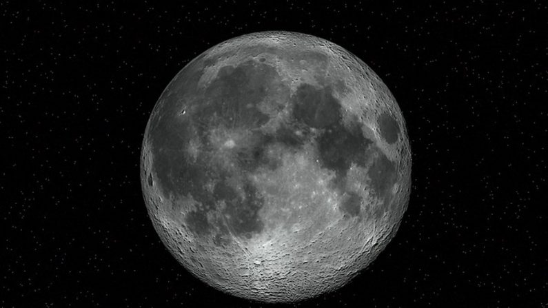 """Descubren algo misterioso """"5 veces más grande que Hawai"""" enterrado en la luna"""