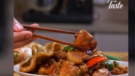 Prepara este guisado de pollo a la oriental y lleva tu paladar al otro lado del mundo
