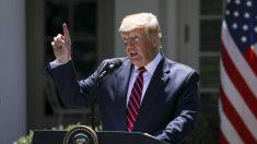 """Trump: """"Irán cometió un gran error"""" al derribar un dron estadounidense"""