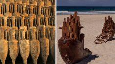 """Descubren en Chipre un naufragio romano """"intacto"""" cargado de antiguas mercancías"""