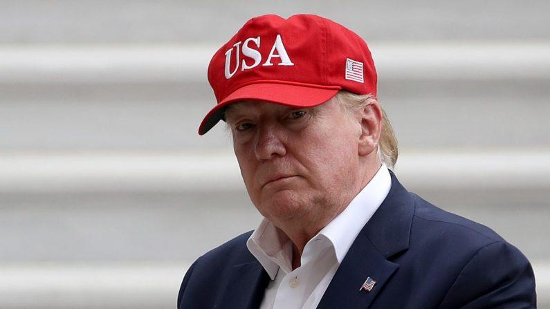 El presidente Donald Trump en la Casa Blanca el 7 de junio de 2019. (Win McNamee/Getty Images)