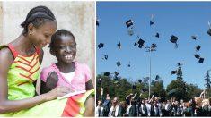 Mujer del tamaño de un niño de 3 años, a quien le dieron 3 días de vida, se gradúa de la universidad