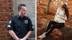 Policía quiere ayudar a una adicta sin hogar embarazada y termina adoptando a su bebé