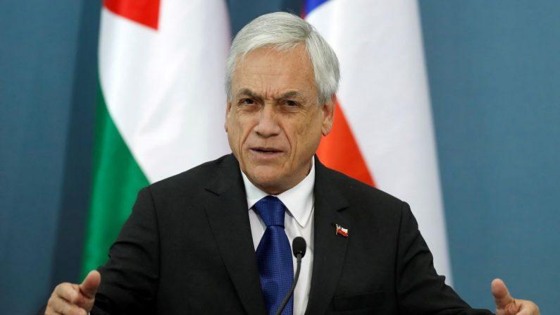 El presidente chileno, Sebastián Piñera. (EFE/Atef Safadi/Archivo)