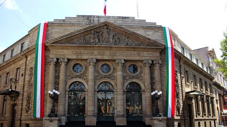 Cámara de Diputados, Ciudad de México. (WikiCommons)