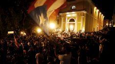 Júbilo en Puerto Rico por la renuncia del gobernador Rosselló por fuerza popular