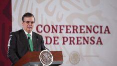 Flujo de migrantes centroamericanos ha disminuido en 39%, dice canciller mexicano
