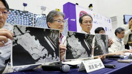 Japoneses logran posar una sonda en asteroide remoto y enviar fotos a la Tierra