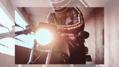 Esta es la lección que un motociclista le da a un conductor que va por el lado incorrecto del camino