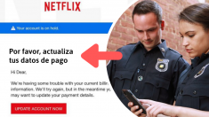 ¡La policía advierte sobre estafa!: Se presentan como Netflix para robar información personal