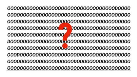 ¿Puedes contar cuántas letras D se esconden en esta foto en menos de 10 segundos?