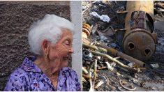 Viuda de 90 años afronta multa de USD 2500 diarios por basura en su patio, pero ellos salen al rescate