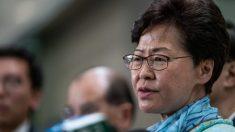 La líder de Hong Kong, Carrie Lam, ofreció renunciar por las protestas pero Beijing le dijo que no