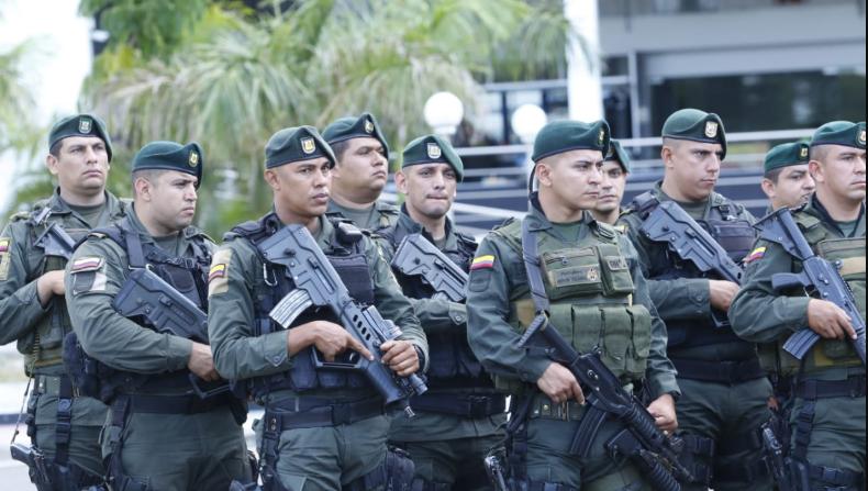 Fuerzas Militares Colombianas. (Ministerio del Interior de Colombia)