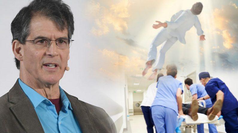 Imagen compuesta a izquierda de Getty Images, el neurocirujano Dimitrios Kambouris, y a derecha una ilustración de Shutterstock
