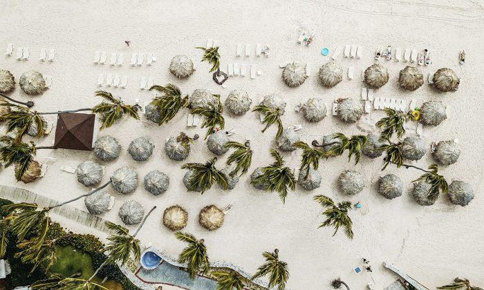 Imagen aérea de Punta Cana, República Dominicana. (Justin Aikin/Unsplash)