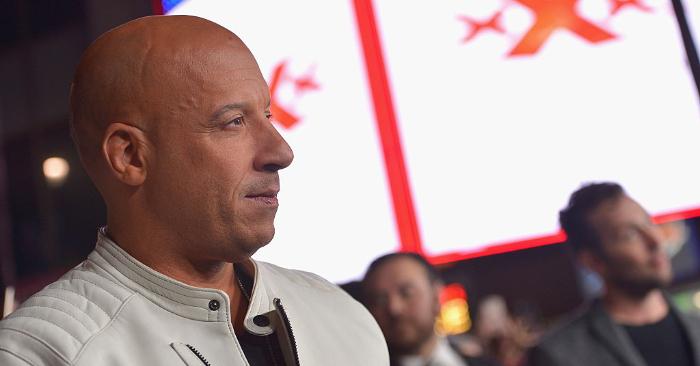"""El actor y productor Vin Diesel asiste al estreno de """"xXx: Reactivated"""" en el TCL Chinese Theatre IMAX, el 19 de enero de 2017, en Hollywood, California.Foto de Charley Gallay/Getty Images para Paramount Pictures."""