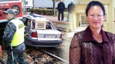 Tren choca contra un auto en un cruce ferroviario y ella sale ilesa del incidente: los milagros existen