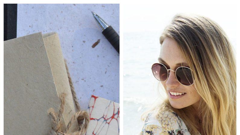 Una joven mexicana de 18 años elabora libretas con sargazo para ayudar a combatir la grave contaminación en las playas del Caribe. Imagen ilustrativa. (Créditos: Pixabay / Izq. Beate Münchenbachy; Der. rawpixel)