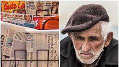 Anciano argentino abatido por el incendio de su quiosco de revistas recibe la sorpresa de sus vecinos