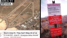 """Casi 300.000 cazadores de OVNIS """"irrumpirán en el Área 51"""" en busca de secretos extraterrestres"""