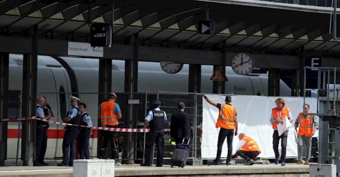 La muerte de un niño arrojado al tren por un desconocido sacude Alemania. Foto de EFE/EPA/ARMANDO BABANI
