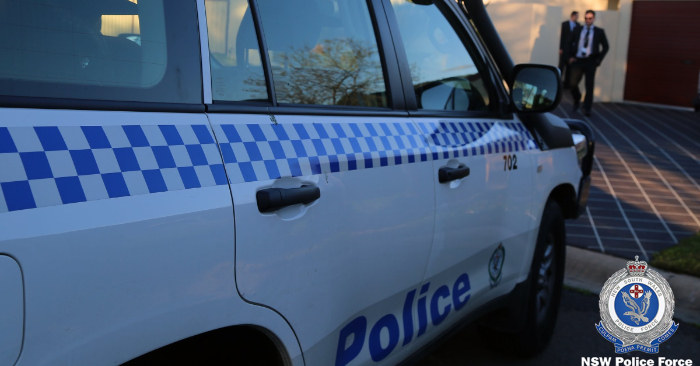 Foto ilustrativa de un auto de la policía australiana/NSW Police Force/Facebook
