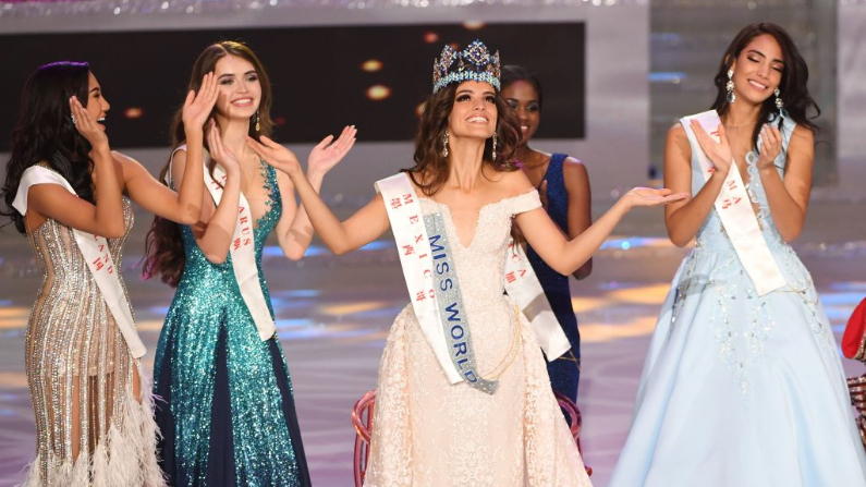 Miss Mexico Vanessa Ponce de Leon. (Crédito: GREG BAKER/AFP/Getty Images)