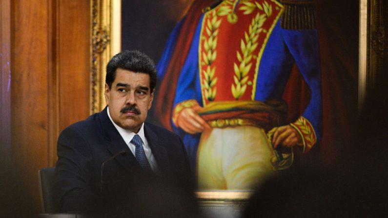 Nicolás Maduro, dictador de Venezuela en el Palacio de Miraflores el 27 de junio de 2019 en Caracas, Venezuela. (Matias Delacroix/Getty Images)