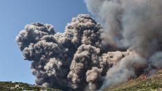 Escenas de violenta erupción del volcán Stromboli, Italia: 1 turista muere mientras decenas escapan