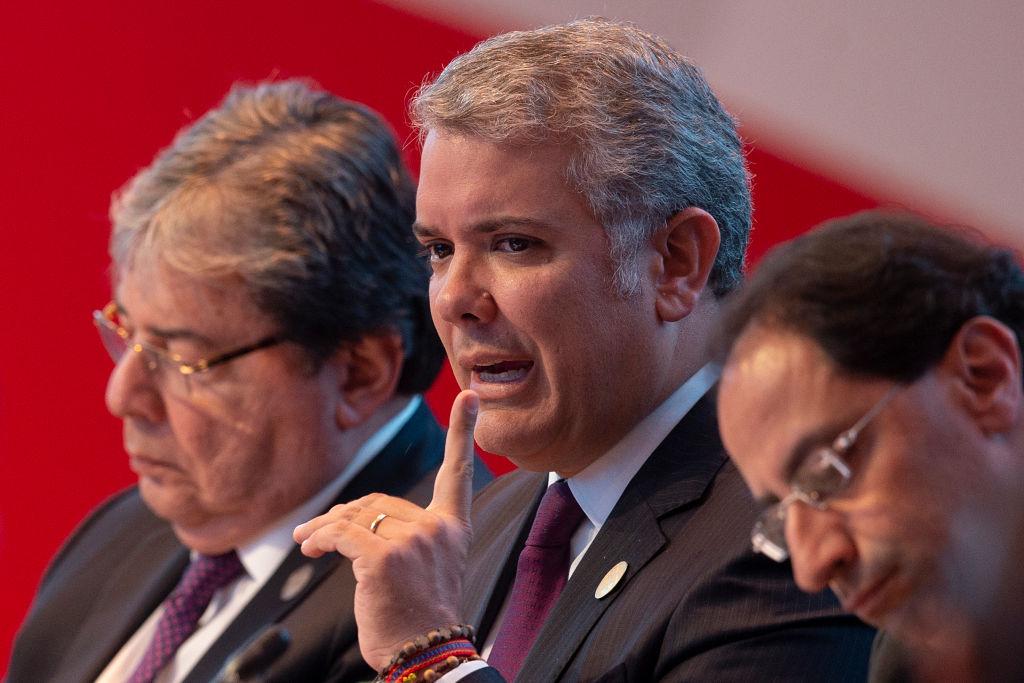 """Iván Duque: """"El narcotráfico quiere poner alcaldes y gobernadores"""""""