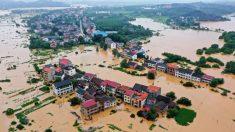 China experimenta niveles sin precedentes de inundaciones mientras los medios chinos guardan silencio