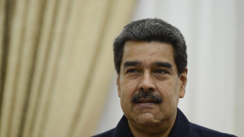 Imagen de archivo de Nicolás Maduro durante una reunión el 9 de julio de 2019 en Caracas, Venezuela. (Matias Delacroix/Getty Images)
