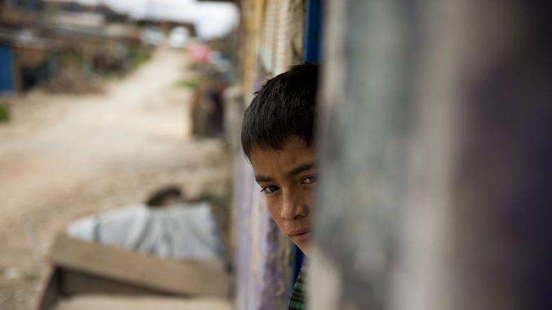 Imagen de archivo de un niño colombiano. (EITAN ABRAMOVICH/AFP/Getty Images)
