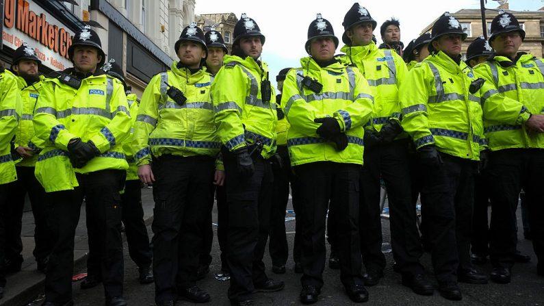 Policía de Newcastle. Imagen de archivo. (Ian Forsyth/Getty Images)