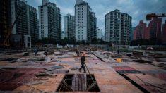 Las empresas inmobiliarias chinas se ahogan en un mar de deudas