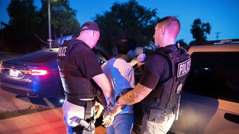 ICE arresta a 75 personas en las áreas del norte de Texas y Oklahoma durante un operativo de 4 días dirigida a extranjeros criminales y fugitivos de inmigración que terminó el 6 de junio de 2019. (Inmigración y Control de Aduanas de los Estados Unidos)