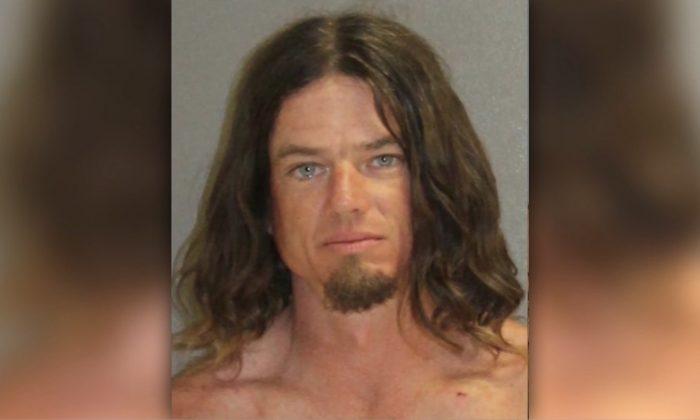 John Bloodsworth fue arrestado en Daytona Beach, Florida, el 16 de julio de 2019. (Cárcel del Condado de Volusia)