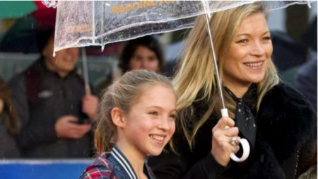 La hermosa hija de Kate Moss ya tiene 16 años y es modelo como su mamá
