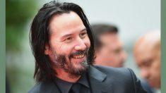 """Keanu Reeves se afeita su icónica barba para la tercera película """"Bill y Ted"""", mira su nueva imagen"""