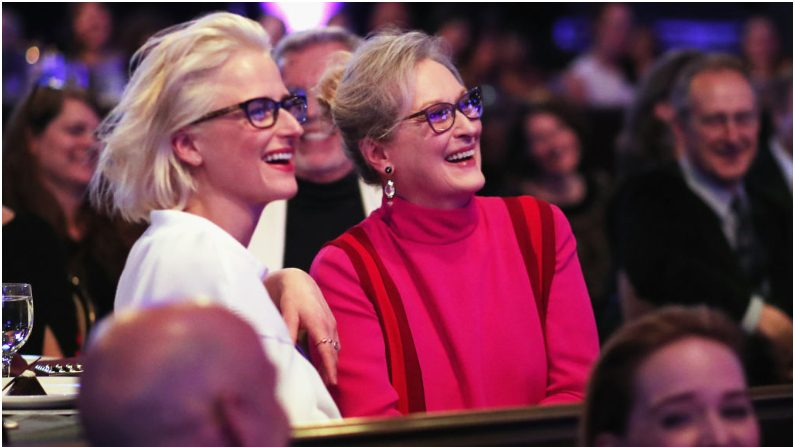 Meryl Streep y su hija Mamie Gummer. (Crédito: Christopher Polk/Getty Images)