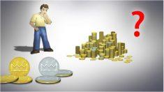 Resuelve el enigma de las monedas: ¿Puedes hacer 2 pilas iguales con el mismo número de caras de plata?