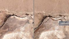 Terremoto de California deja una grieta en la Tierra visible desde el espacio