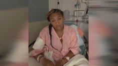 """Madre de 18 años sufre un """"dolor insoportable"""" cuando epidural se atasca en su espalda por días"""