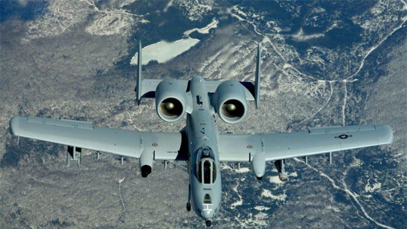 Un A-10 Thunderbolt II. (Foto de la Fuerza Aérea de EE.UU./Sargento Melanie Norman)