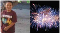 Niño pierde la mano luego de que un vecino le da un fuego artificial que explota de repente
