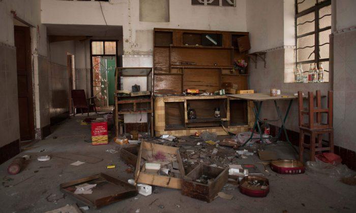 Imagen ilustrativa de un departamento abandonado en China. (Nicolas Asfouri/AFP/Getty Images)